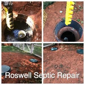 roswell septic repair
