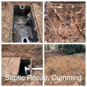 septic tank repair cumming