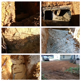 French Drain Installation in Milton, GA