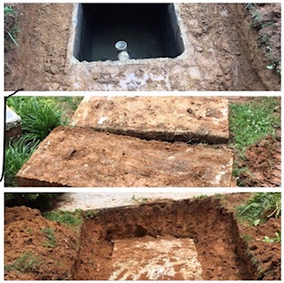 Septic Lid Replacement, Roswell